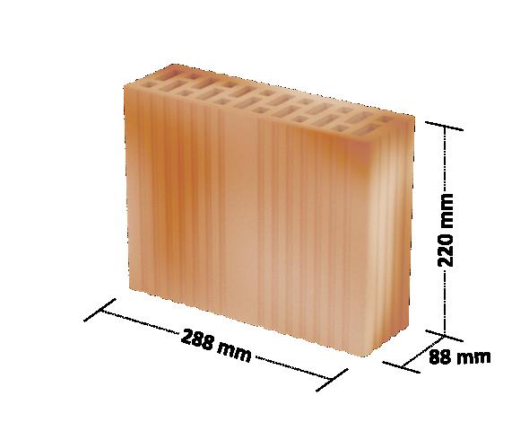 Cegła DZ-220 : jako materiał uzupełniający przy wznoszeniu murów z pustaków