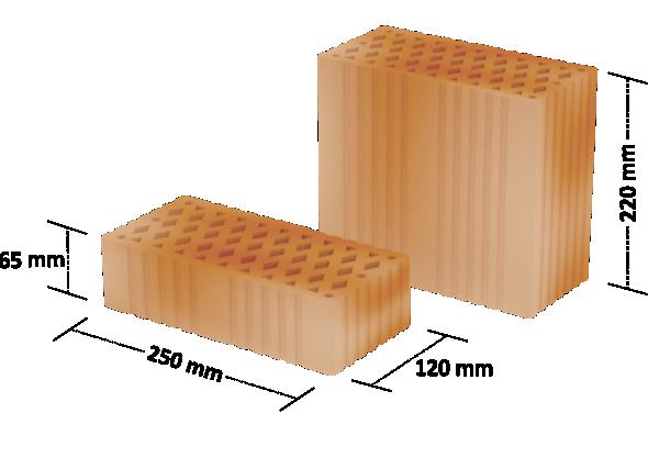 Cegła kratówka : do wznoszenia ścian nośnych i działowych