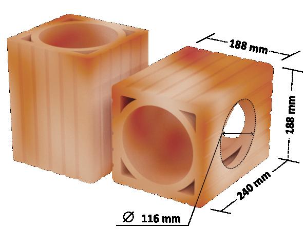 Pustak do przewodów wentylacyjnych P, PO : do wykonywania przewodów wentylacyjnych w budynkach